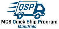 Quick Ship Program Mandrels Logo.