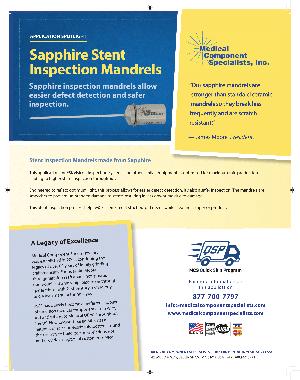 Sapphire Mandrels Datasheet